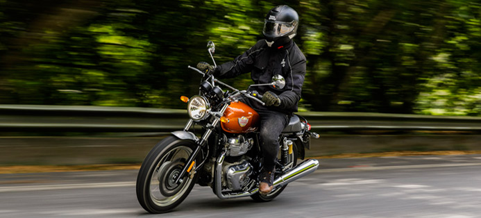 Royal Enfield home Test Ride